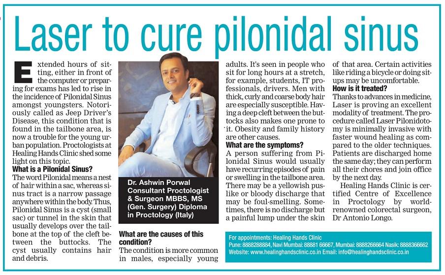Laser Cure Pilonidal Sinus
