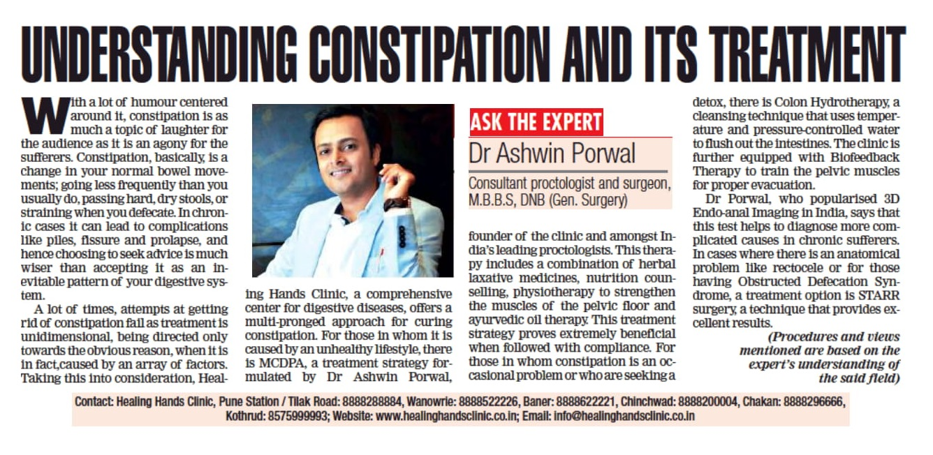 Constipation and It's Treatment