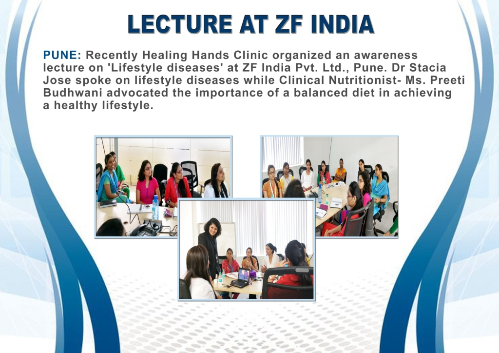lecture at ZF India
