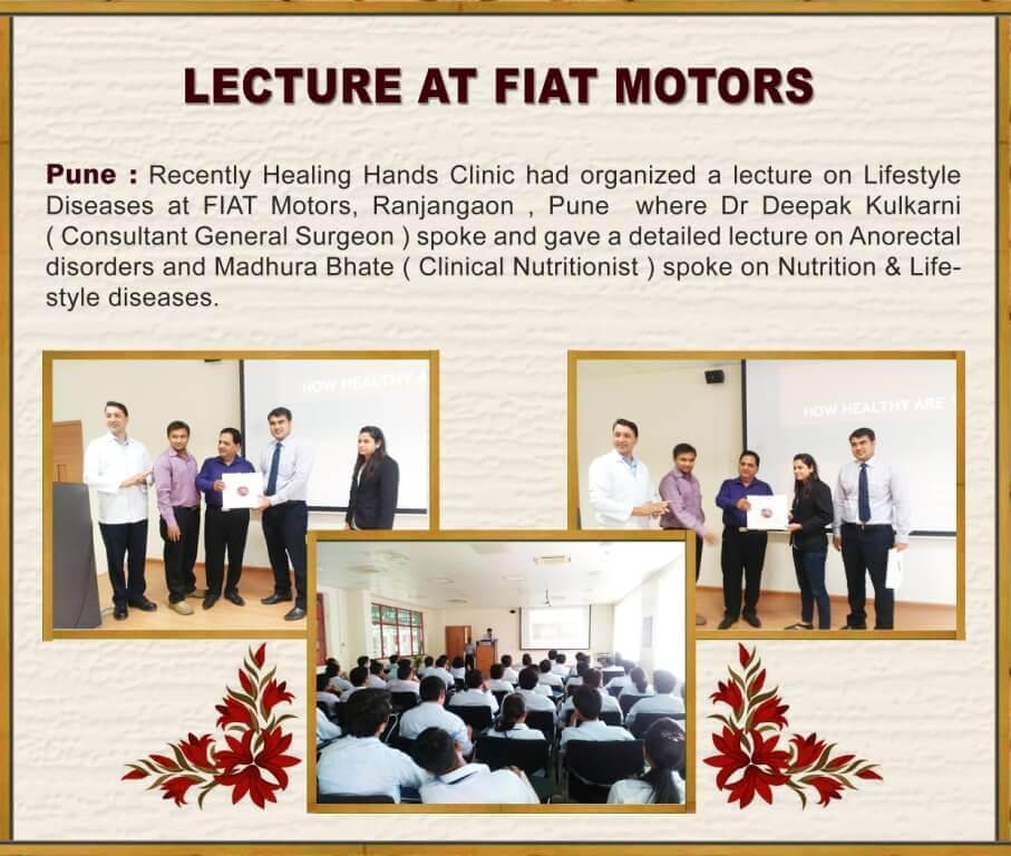 Lecture at FIAT Motors
