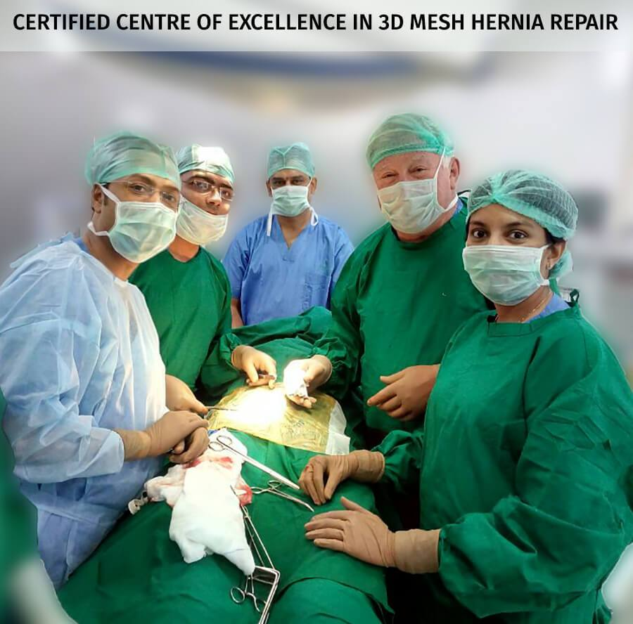 3D Mesh Hernia Repair