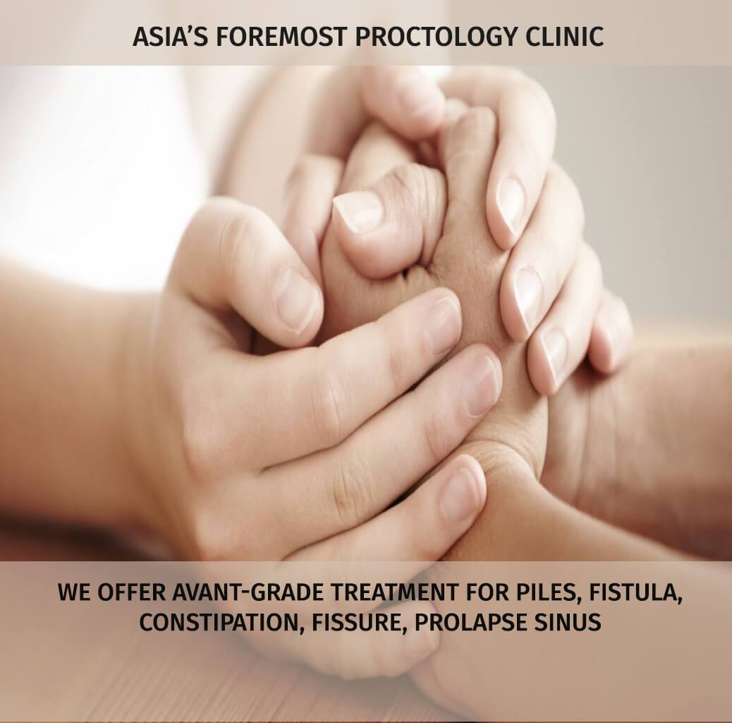 India's Leading Proctology Clinic for treatment of Piles, Fistula